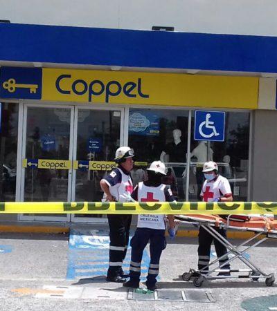 OTRA VEZ ASALTAN COPPEL DE LA LAKIN: Con armas y pasamontañas, cuatro ladrones amagan a clientes y empleados y se llevan el dinero