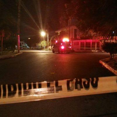 SE PONE VIOLENTA LA NOCHE DE CANCÚN: Dos personas ejecutadas en hechos simultáneos en las regiones 220 y 519