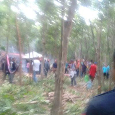 FRENAN INVASIÓN EN PLAYA: Atajan a un grupo de 150 personas que intentan apoderarse de terrenos aledaños a la colonia Tumben Chilam