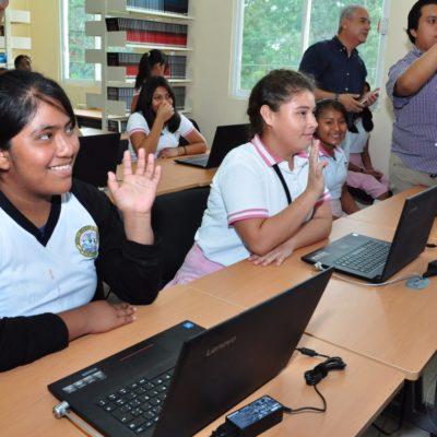 Imparten asesorías en matemáticas y lecto-escritura en Tulum
