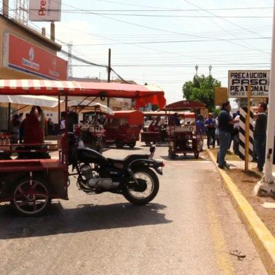Meterán en cintura a mototaxis con la Ley de Movilidad