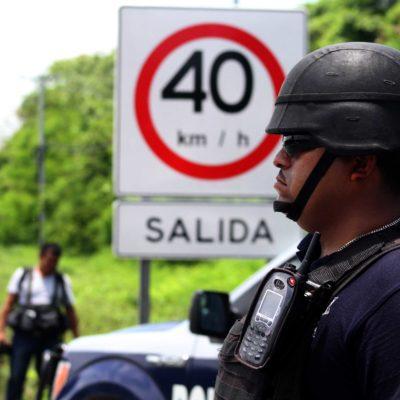 Mantienen operativos de reforzamiento de la vigilancia en todo QR tras la detención de 'Doña Lety'