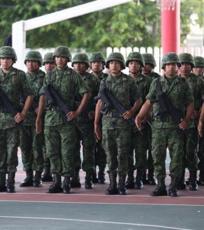 Para la comandancia de la 34 Zona Militar, Quintana Roo es un estado seguro