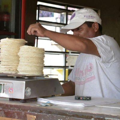 Se alzan tenderos contra prohibición de venta de tortillas en tiendas