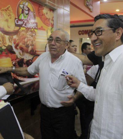 """""""EL QUE SEA, NO NADA MÁS ES FRANK"""": En el PAN no hay dados cargados, asegura Eduardo Pacho sobre eventual candidatura de Juan Vergara para Cancún"""