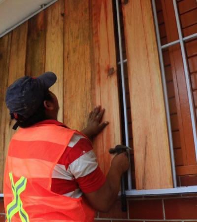 TODOS PREPARADOS PARA LA LLEGADA DE 'FRANKLIN': Con 'alerta roja' declarada, el sur de QR espera el impacto de la tormenta tropical