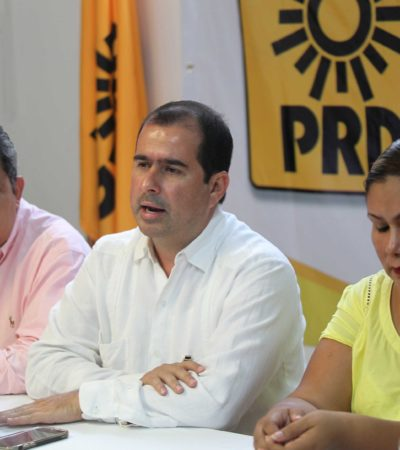 Reclama Jorge Aguilar al TSJ revisión de cuentas de Fidel Villanueva; da su voto de confianza a José Antonio León Ruiz