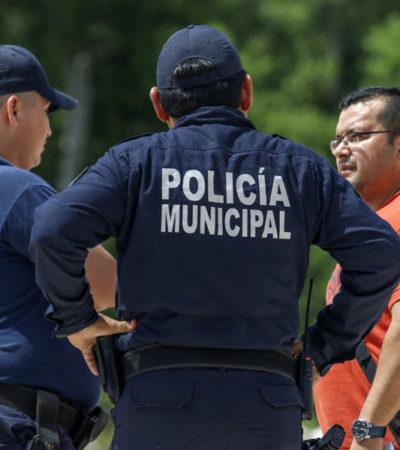 Denuncian degradación de policías en Cozumel