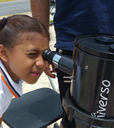 GALERIA | MAL TIEMPO ECLIPSA… AL ECLIPSE: Nublados y lluvias impidieron apreciar a plenitud el fenómeno astronómico en Quintana Roo