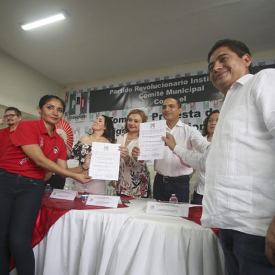EL FELIXISMO VA CON TODO EN COZUMEL: Designan a un ex Alcalde como dirigente municipal provisional del PRI y arremeten contra Perla Tun