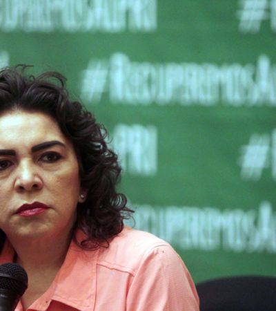 Cada quien tiene que responder por sus actos, dice Ivonne Ortega sobre su compadre Roberto Borge