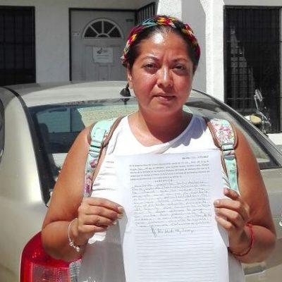 Agrede funcionaria a reportera en Playa del Carmen; ofrece disculpas, no se las aceptan