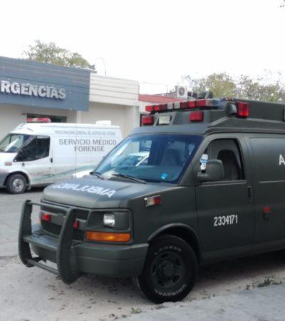 Sufre militar descomprensión en adiestramiento de buceo en Cozumel