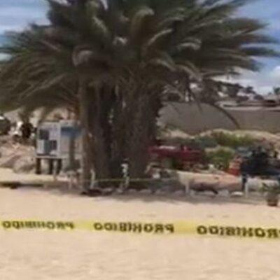 EJECUCIÓN MÚLTIPLE EN PLAYA DE LOS CABOS: Sicarios matan a 3 y dejan 2 heridos en Playa Palmilla | VIDEO