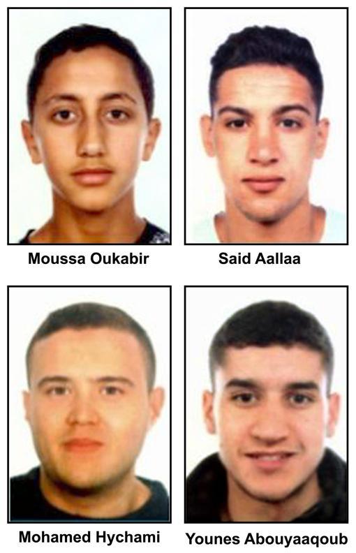TERRORISMO EN BARCELONA: Buscan a 4 jóvenes por el ataque en Las Ramblas y en Cambrilis