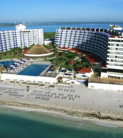Muere turista inglés al caer de tercer piso del hotel Crown Paradise Club en Cancún