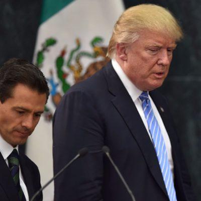 FILTRAN LLAMADA ENTRE PRESIDENTES: Que Trump pidió a Peña dejar de decir que México no pagará el muro, según el WP