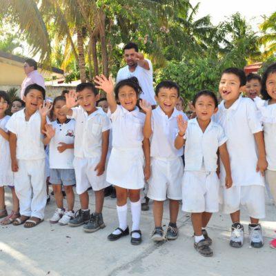 SE ACABARON LAS VACACIONES: Más de 10 mil alumnos a las aulas en Tulum