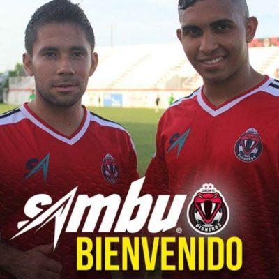 Ruben Sambueza viste con 'nueva piel' a los Pioneros de Cancún