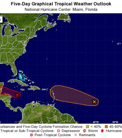 Vigilan onda tropical en el Caribe que podría convertirse en ciclón y amenazar costas de QR