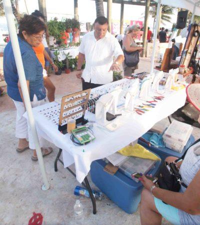 Por mal tiempo, reprograman segunda fecha del Tianguis de Artesanos y Productores de Puerto Morelos
