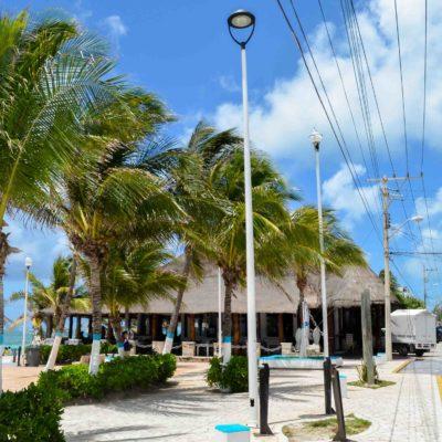 Destacan proyecto de cableado subterráneo en el casco antiguo de Puerto Morelos