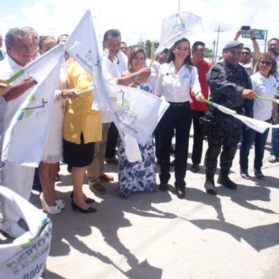 Inicia ampliación del acceso a Bahía Petempich y construcción de una caseta de policía