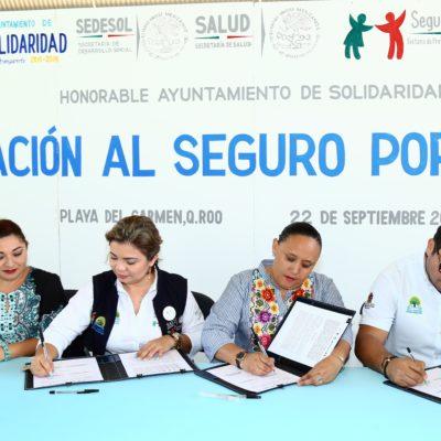 Inician campaña de afiliación del Seguro Popular para más de 2 mil solidarenses