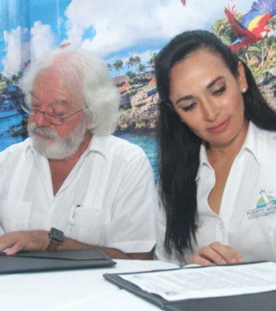 Firma Gobierno de Puerto Morelos convenio con Experiencias Xcaret para dar cortesías y descuentos para ingresar a parques temáticos