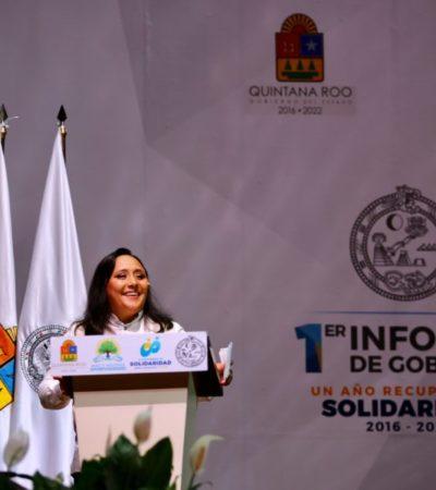 INFORME EN SOLIDARIDAD: Anuncia Cristina Torres sistema de cámaras de vigilancia en la Quinta Avenida y otros puntos del municipio