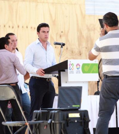 Supervisa Remberto detalles de su primer informe en Cancún