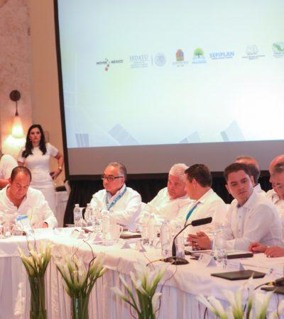 Firma Puerto Morelos convenio de colaboración con Sedatu y Gobierno de QR para modernización catastral