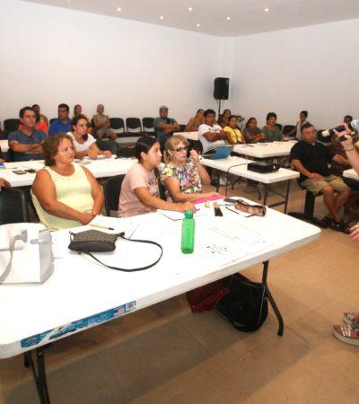 Concluyen cursos de capacitación para microempresarios en Puerto Morelos