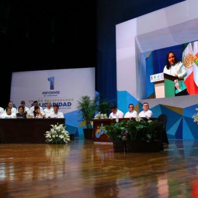 "INFORME EN SOLIDARIDAD: Llama Cristina Torres a fortalecer el tejido social ""para recuperar la grandeza"" del municipio"