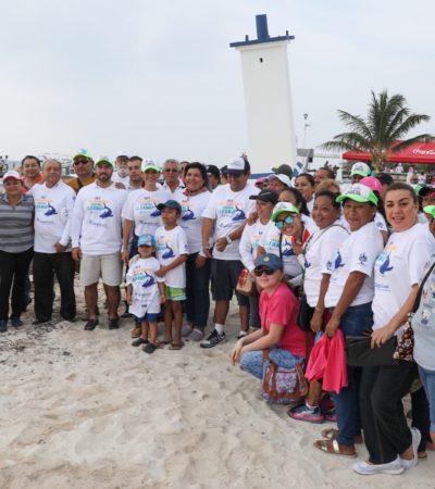 También Puerto Morelos se une a la jornada de limpieza de playas