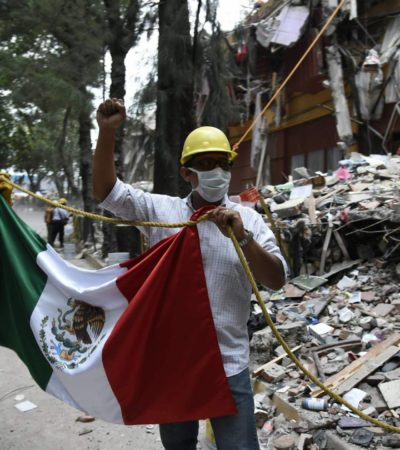 SISMO EN MÉXICO   Prevén mayor migración a Cancún por sismo en el centro del país