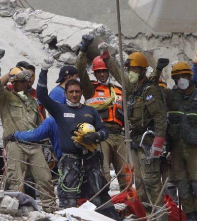 SISMO MÉXICO   CONTINÚAN RESCATES CONTRA RELOJ: Suman más de 300 muertos por el terremoto que sacudió el centro de México