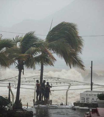 LOS DAÑOS DE LIDIA EN BAJA CALIFORNIA: Tormenta deja 4 muertos y daños cuantiosos en Los Cabos