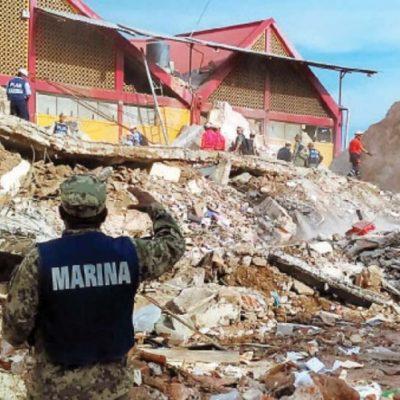 SALDOS DEL TERREMOTO: Se eleva a 61 el número de muertos por el desastre; Oaxaca, el más afectado