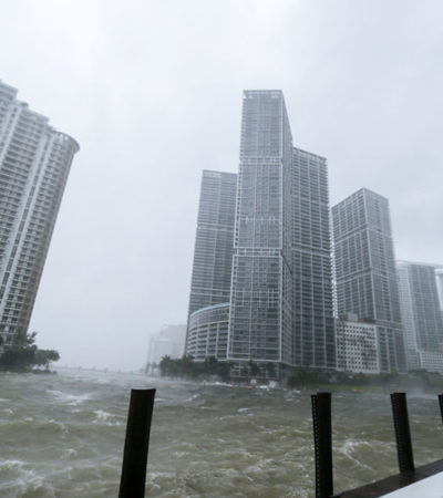 AZOTA 'IRMA' A FLORIDA: Deja huracán los primeros tres muertos tras impactar en el extremo sur de EU