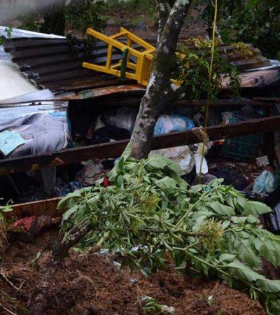 Emiten declaratoria de emergencia para 29 municipios de Veracruz por afectaciones del huracán 'Katia'