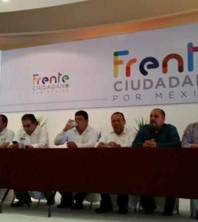 Rumbo al 2018, presentan Frente Ciudadano, plataforma aliancista entre PAN, PRD y MC