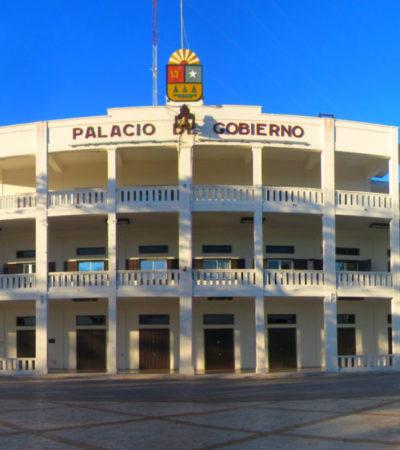 Cerca de 200 mdp costaría construir un nuevo Palacio de Gobierno para sustituir el edificio actual cuya estructura ya no es óptima, dice Oficial Mayor