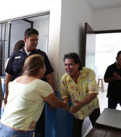 A unas horas del Grito, cumplen con la tradición en Tulum y dan libertad a presos