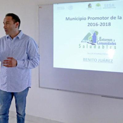Promueve Alcalde esquema para acercar servicios de salud a las colonias de Benito Juárez