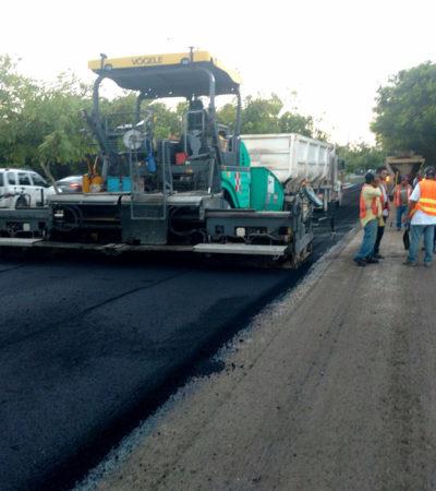 Espera Alcalde entregar histórica obra pública en Cancún con nuevo flujo en proceso de recursos federales
