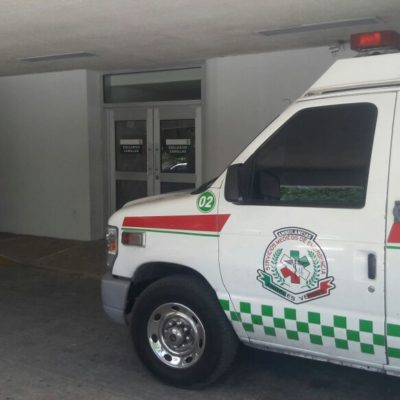 Acuchillado a la salida del banco en la SM 20 de Cancún