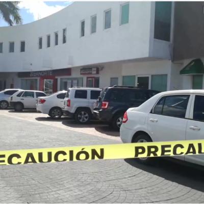 ASALTAN BANORTE DE LA SM 50: Por segunda vez en el año, ladrones atracan la misma sucursal bancaria y escapan en Cancún