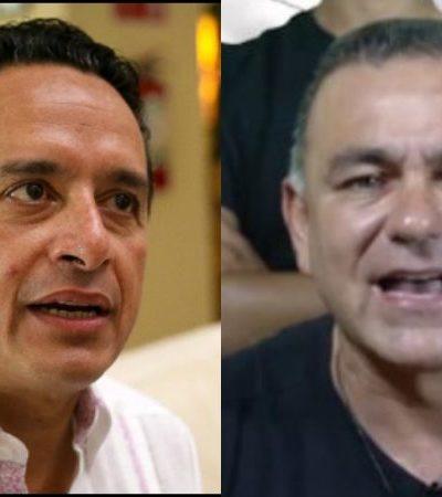 """""""SIEMPRE HE SIDO HOMBRE DE PAZ"""": En mensaje en Twitter, Gobernador rechaza la violencia en alusión a acusación de Mimenza tras supuesto atentado"""