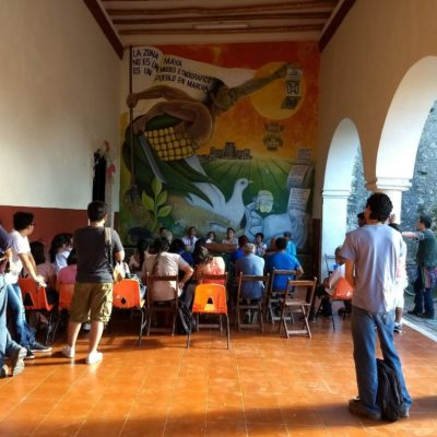 Promueven zapatistas su estrategia electoral en la Zona Maya de Quintana Roo